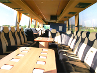 VIP bus interieur
